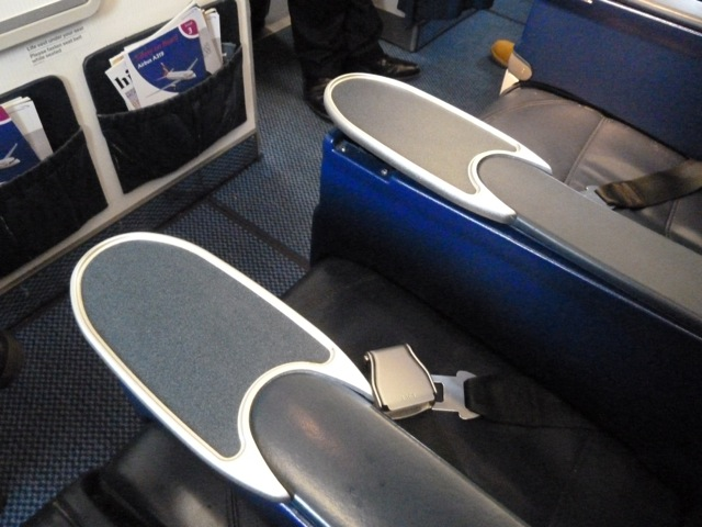The empty middle seat.