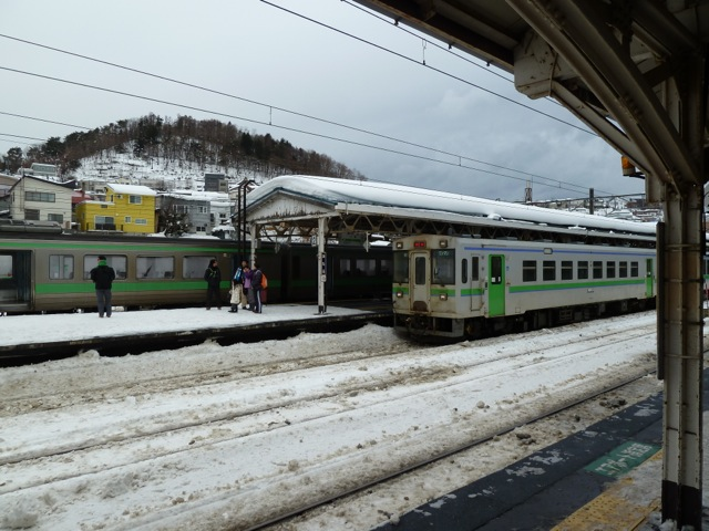 The local train I arrived on from Kutchan.