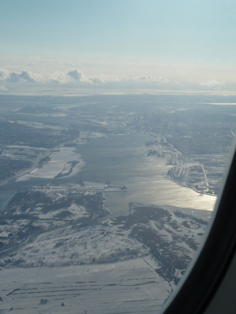 The mighty St. Lawrence.