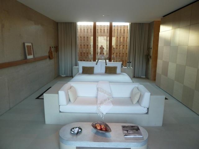 My room at the Amangiri.