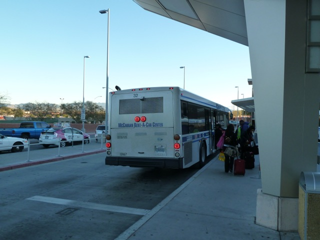 Shuttle to the terminal.