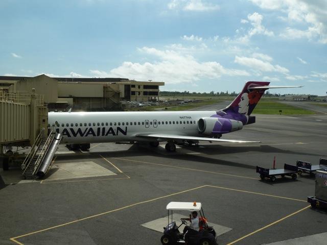 My plane.