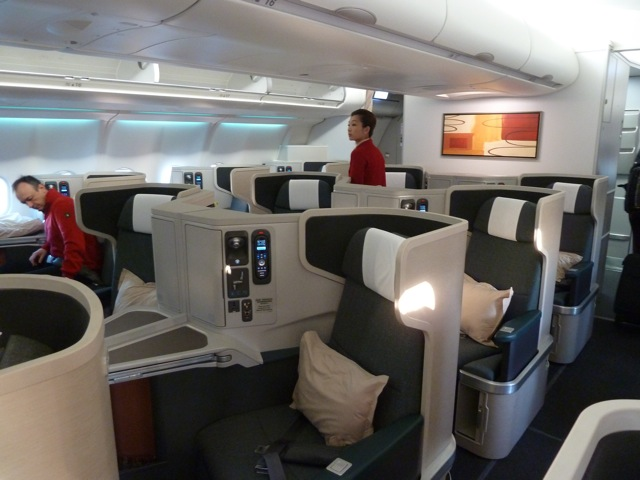 Cathay Pacific Airways Business Class A 330 300 Perth