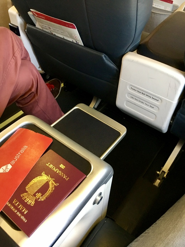 Virgin Australia, Business Class – Boeing B 737-800: Adelaide to